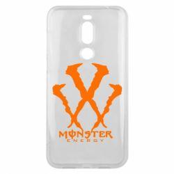 Чехол для Meizu X8 Monster Energy W - FatLine