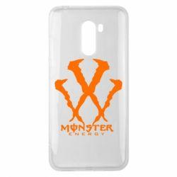 Чехол для Xiaomi Pocophone F1 Monster Energy W - FatLine