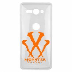 Чехол для Sony Xperia XZ2 Compact Monster Energy W - FatLine