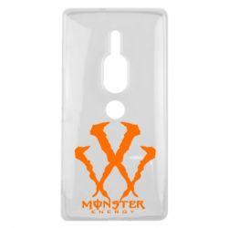 Чехол для Sony Xperia XZ2 Premium Monster Energy W - FatLine