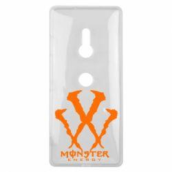 Чехол для Sony Xperia XZ3 Monster Energy W - FatLine