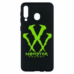 Чехол для Samsung M30 Monster Energy W