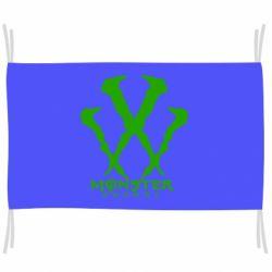 Прапор Monster Energy W
