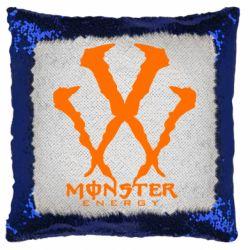 Подушка-хамелеон Monster Energy W