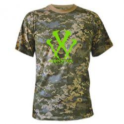 Камуфляжная футболка Monster Energy W - FatLine