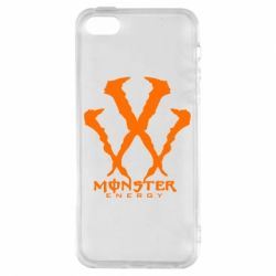 Чехол для iPhone5/5S/SE Monster Energy W - FatLine