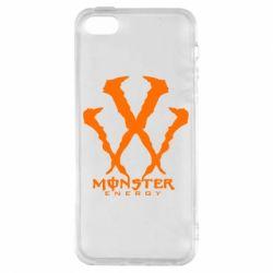 Чохол для iphone 5/5S/SE Monster Energy W
