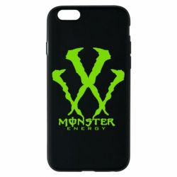Чехол для iPhone 6/6S Monster Energy W - FatLine
