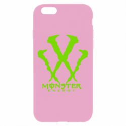 Чехол для iPhone 6 Plus/6S Plus Monster Energy W - FatLine