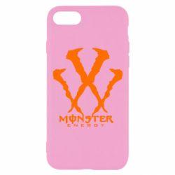 Чехол для iPhone 8 Monster Energy W