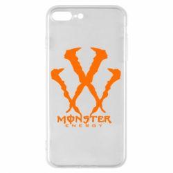 Чехол для iPhone 8 Plus Monster Energy W
