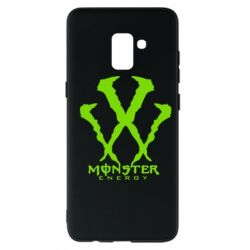 Чехол для Samsung A8+ 2018 Monster Energy W - FatLine