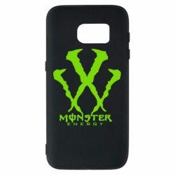 Чехол для Samsung S7 Monster Energy W