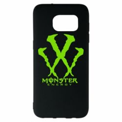 Чехол для Samsung S7 EDGE Monster Energy W - FatLine