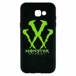 Чехол для Samsung A7 2017 Monster Energy W - FatLine
