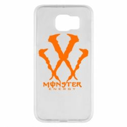 Чехол для Samsung S6 Monster Energy W - FatLine