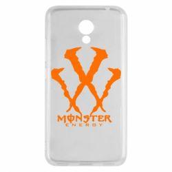 Чехол для Meizu M5c Monster Energy W - FatLine
