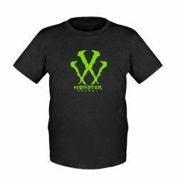 Детская футболка Monster Energy W - FatLine