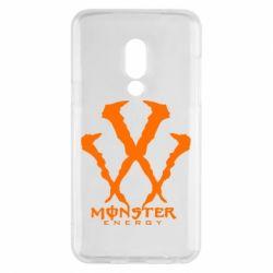 Чехол для Meizu 15 Monster Energy W - FatLine