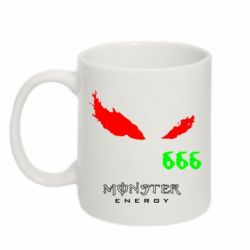 Кружка 320ml Monster Eyes 666