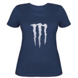 Женская футболка Monster Lines Голограмма
