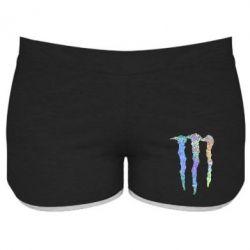 Женские шорты Monster Lines Голограмма