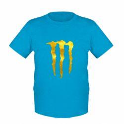 Дитяча футболка Monster Lines Голограма