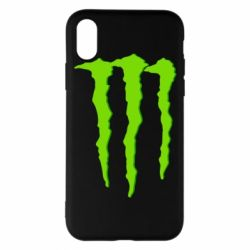 Чехол для iPhone X/Xs Monster Lines