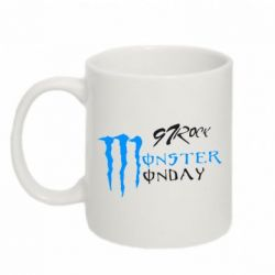 Кружка 320ml Monster Monday Rock - FatLine