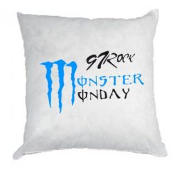 Подушка Monster Monday Rock
