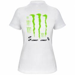 Женская футболка поло Monster One - FatLine