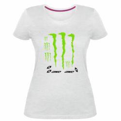 Женская стрейчевая футболка Monster One