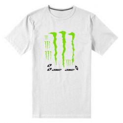 Мужская стрейчевая футболка Monster One