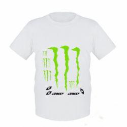 Детская футболка Monster One - FatLine