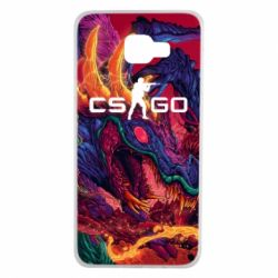 Чехол для Samsung A7 2016 Monster skin CS GO - FatLine