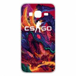 Чехол для Samsung J3 2016 Monster skin CS GO - FatLine