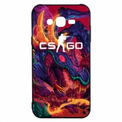 Чехол для Samsung J7 2015 Monster skin CS GO - FatLine