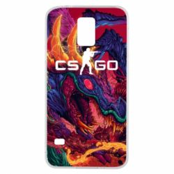 Чехол для Samsung S5 Monster skin CS GO - FatLine