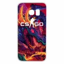Чехол для Samsung S6 EDGE Monster skin CS GO - FatLine