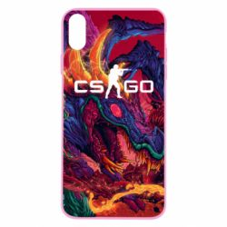 Чехол для iPhone X/Xs Monster skin CS GO - FatLine