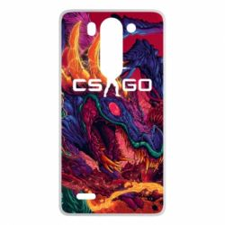 Чехол для LG G3 mini/G3s Monster skin CS GO - FatLine