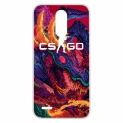 Чехол для LG K10 2017 Monster skin CS GO - FatLine