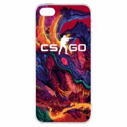 Чехол для iPhone5/5S/SE Monster skin CS GO - FatLine