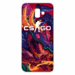 Чехол для Samsung J6 Plus 2018 Monster skin CS GO - FatLine