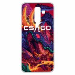 Чехол для Samsung J8 2018 Monster skin CS GO - FatLine