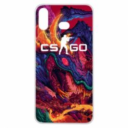 Чехол для Samsung A6s Monster skin CS GO - FatLine