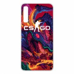 Чехол для Samsung A7 2018 Monster skin CS GO - FatLine