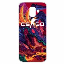 Чехол для Samsung A6 2018 Monster skin CS GO - FatLine
