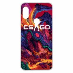 Чехол для Xiaomi Redmi Note 6 Pro Monster skin CS GO - FatLine