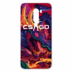 Чехол для Xiaomi Pocophone F1 Monster skin CS GO - FatLine